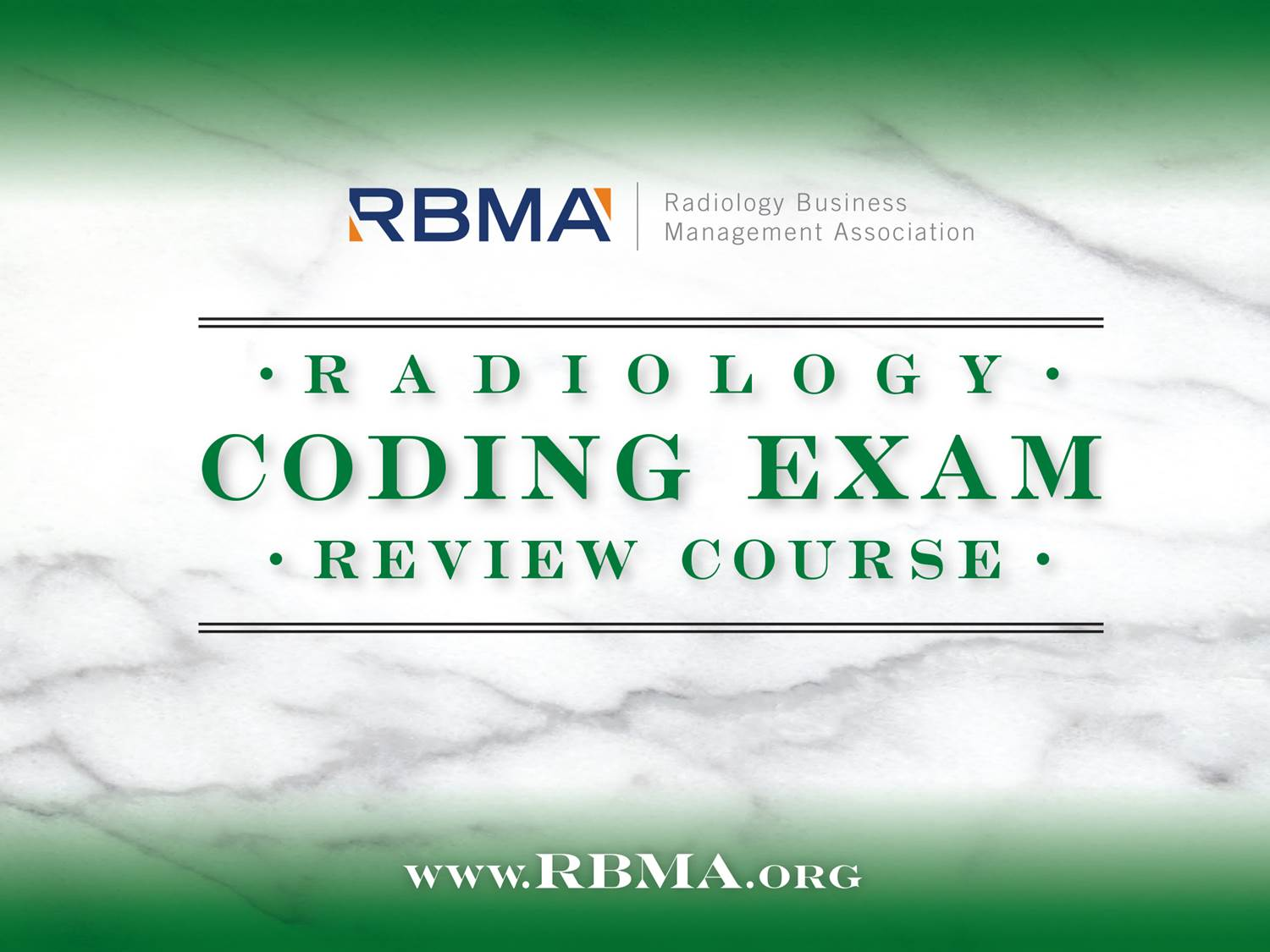 2018 Coding Exam Review Course